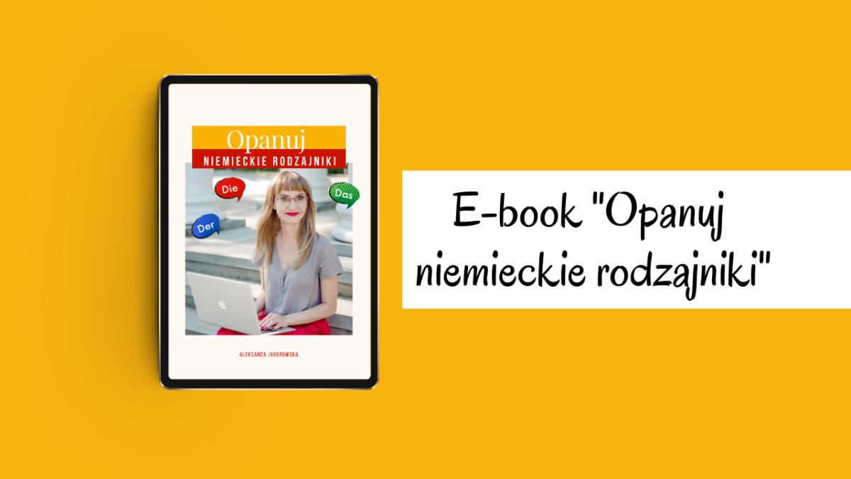 Opanuj niemieckie rodzajniki - ebook